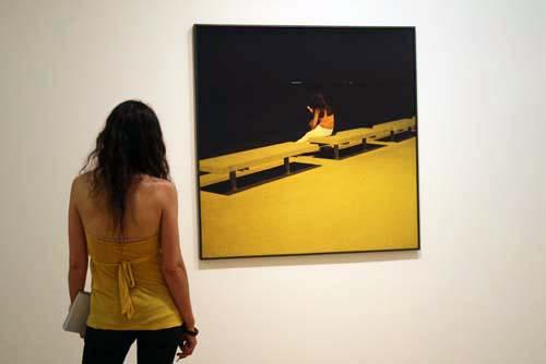 Photographs 1974-2008, Patrick Faigenbaum exhibition, Circulo de Bellas Artes, PhotoEspana 2009, © Miranda Gavin 2009