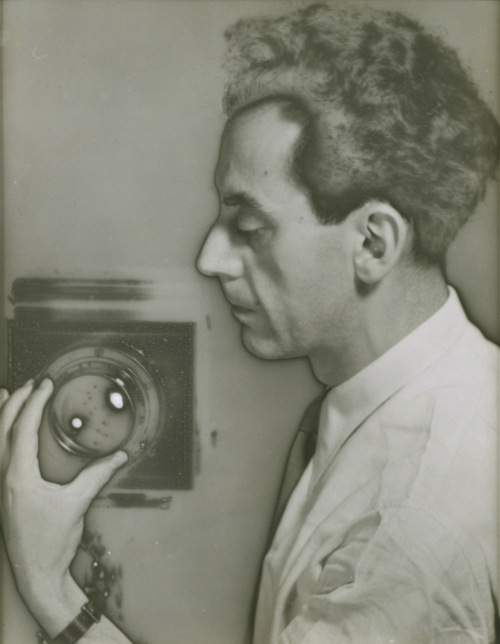 Man Ray Self-Portrait with Camera
