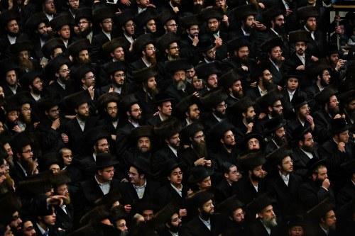 United Kingdom - London - Stamford Hill Orthodox Jewish Men