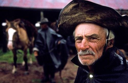 Uruguay - Vichadero - Portrait of Gaucho on ranch.