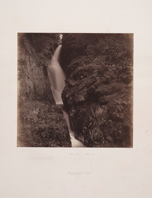 Aira Force, Ullswater, Roger Fenton, 1860