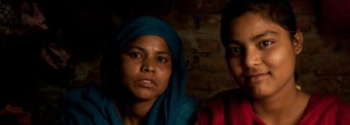 Bawana JJ Colony by Rajan Zaveri and Kamala Kelkar.